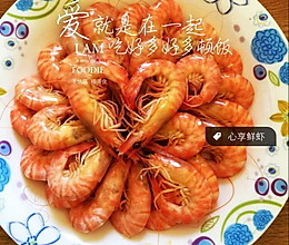 白煮基围虾的做法