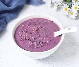 #糖小朵甜蜜控糖秘籍#紫薯麦片粥的做法