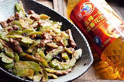 #多力金牌大厨带回家#豆豉凉瓜炒牛肉