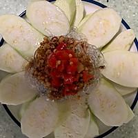 #秋天怎么吃#蒜蓉粉丝蒸丝瓜的做法图解7