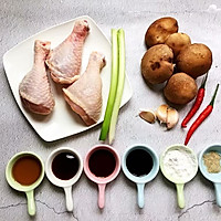 香菇滑鸡,让你远离油烟的美味蒸菜的做法图解1