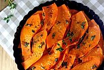 百里香烤南瓜——味道超级棒的香甜南瓜派的做法