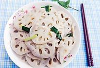 冬日里的清爽素菜--清炒藕片的做法