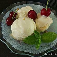 特浓奶油冰砖冰激凌