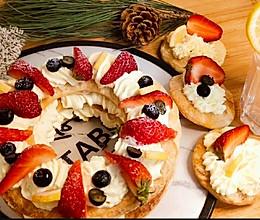 手抓饼版草莓奶油拿破仑的做法