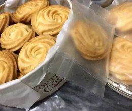 无黄油版曲奇饼干 耗低筋面粉的做法