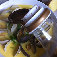 文蛤炖蛋的做法图解12