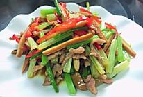 #餐桌上的春日限定#芹菜香干肉丝的做法