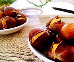 原味烤板栗——秋之味道的做法
