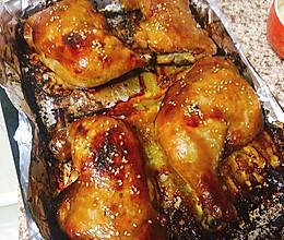 香烤鸡腿的做法
