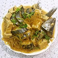鲅鱼炖豆腐粉条
