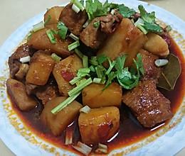香辣土豆肉的做法