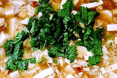冬日里的一股暖流——黑椒酸辣豆腐汤