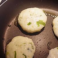 土豆煎饼配烟熏三文鱼水煮嫩蛋#周末早餐#的做法图解7
