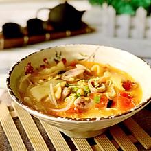 #精品菜谱挑战赛#玉米面番茄面片汤