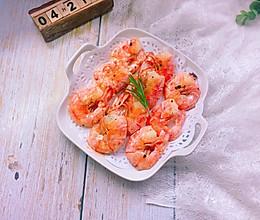 蒜香阿根廷红虾的做法