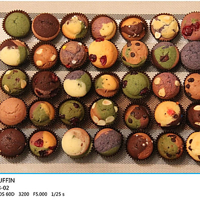 COLORFUL MUFFIN——简单华丽的五彩麦芬