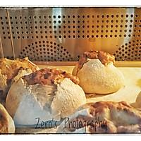 轻法式爆浆红豆乳酪面包(水合法)的做法图解16