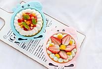 小猪佩奇水果盒子蛋糕的做法