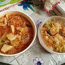 超级美味简单韩式年糕部队汤