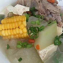 玉米冬瓜大骨汤