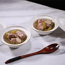 凉瓜黄豆排骨炖汤
