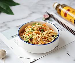 凉拌三丝 #金龙鱼营养强化维生素A 新派菜油的做法