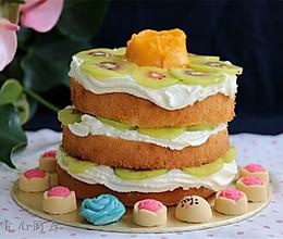 水果裸蛋糕#青春食堂#的做法