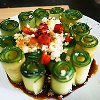 夏天还在吃拍黄瓜吗?有更高颜值好吃的【响油黄瓜】的做法图解6