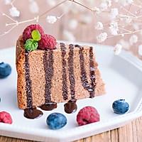 初冬第一口温暖——巧克力蛋糕(面包机版)