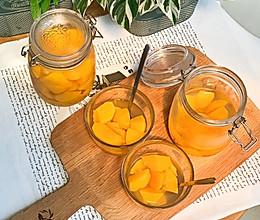 不用生病也可以敞开吃的---黄桃罐头DIY的做法