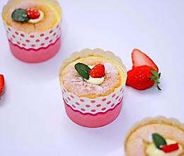 【捧在手心里】北海道戚风蛋糕杯的做法