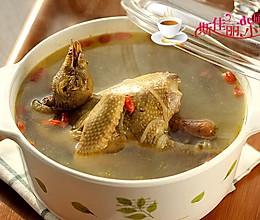 天麻鸽子粉丝汤的做法