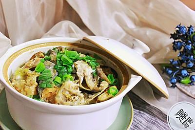 豆の砂鍋魚頭煲