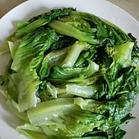 蚝油生菜的做法图解3