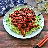 #餐桌上的春日限定#老北京人饭桌上少不了的京酱肉丝的做法图解11
