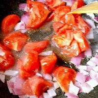 西红柿打卤面的做法图解7