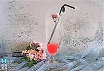 樱花气泡水的做法