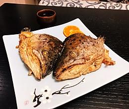 香煎三文鱼头的做法