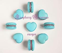 Tiffany树莓马卡龙的做法