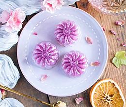 紫薯水晶月饼的做法