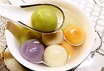 彩色汤圆(天然的健康的)的做法