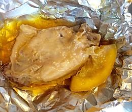 清新嫩滑的锡纸柠檬烤鸡翅的做法