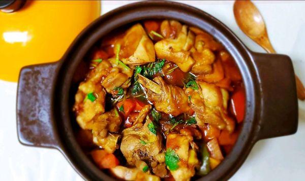 超下饭,不输黄记煌的鸡肉焖锅的做法