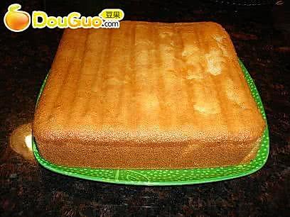 全蛋蛋糕的做法