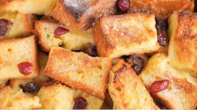低糖版美味面包布丁的做法