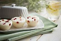 蒸出来的蔓越莓大米糕的做法