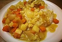 咖喱鸡块 软糯时蔬浓汤汁的做法