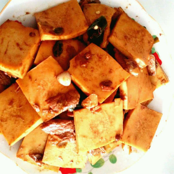 千页豆腐的做法