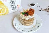 #爱好组-低筋#焦糖摩卡蛋糕的做法